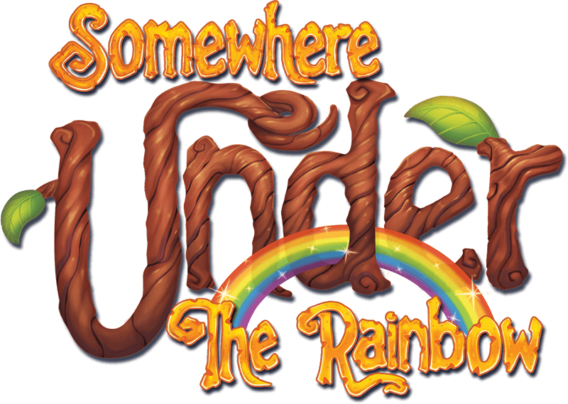 Somewhere Under The Rainbow - game logo